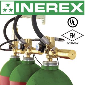 Fit the same amount of extinguishing agent in fewer cylinders with the new 140-liter cylinders for inert gas fire suppression systems from Rotarex Firetec