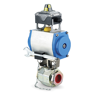 The 4 inch pneumatic directional valve enables users to define the installation position and flow direction for high-flow discharge of extinguishing agent