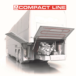 Compact Line Vehicle Fire Suppression System
