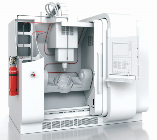 FireDETEC Fire Suppression System for CNC Machines