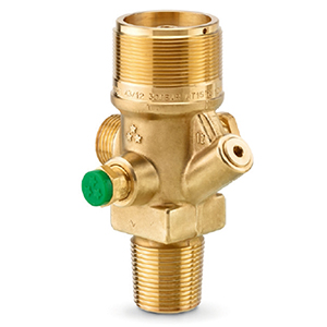 Rotarex Series B0480 cylinder valves for 200/300 bar inert gas fire suppression systems