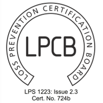 Rotarex Firetec FireDETEC LPCB certifcation for automatic fire detection and fire suppression.