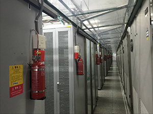Why actuate your room-level fire suppression system when electrical cabinet fire protection can put electrical fires out where they start—just ask China Telecom