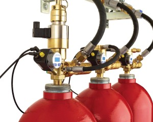 The DIMES digital cylinder contents measurement system for a data center inert gas fire suppression system increases productivity.