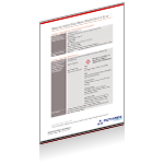 Rotarex Firetec fire protection system components plus fixed installation fire detction and fire suppression system safety data sheet.