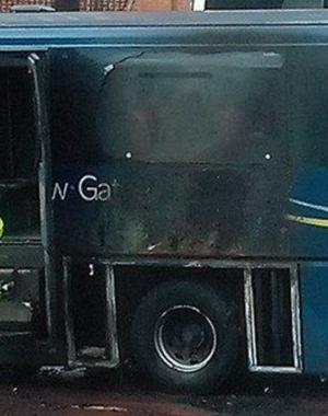 Bus Engine Fire Closes Major Station For 18 Hours