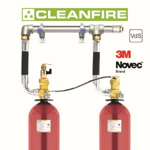 Rotarex Firetec Trumpets New VdS-Approved CLEANFIRE Clean Agent Fire Suppression System Using 3M™ Novec™ Fire Protection Fluid