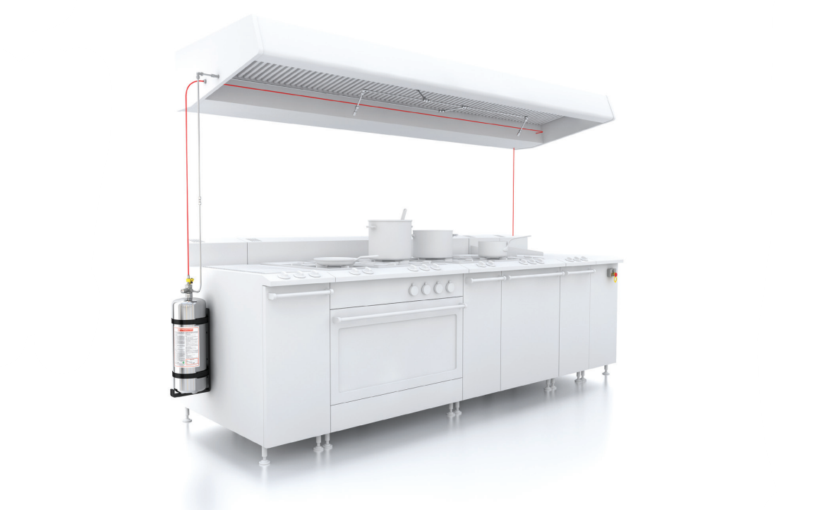 Commercial Kitchen Fire Suppression Systems Rotarex