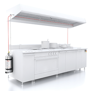 The FireDETEC system for commercial kitchens delivers makes fast, effective fire detection and suppression easy to install and easy to afford
