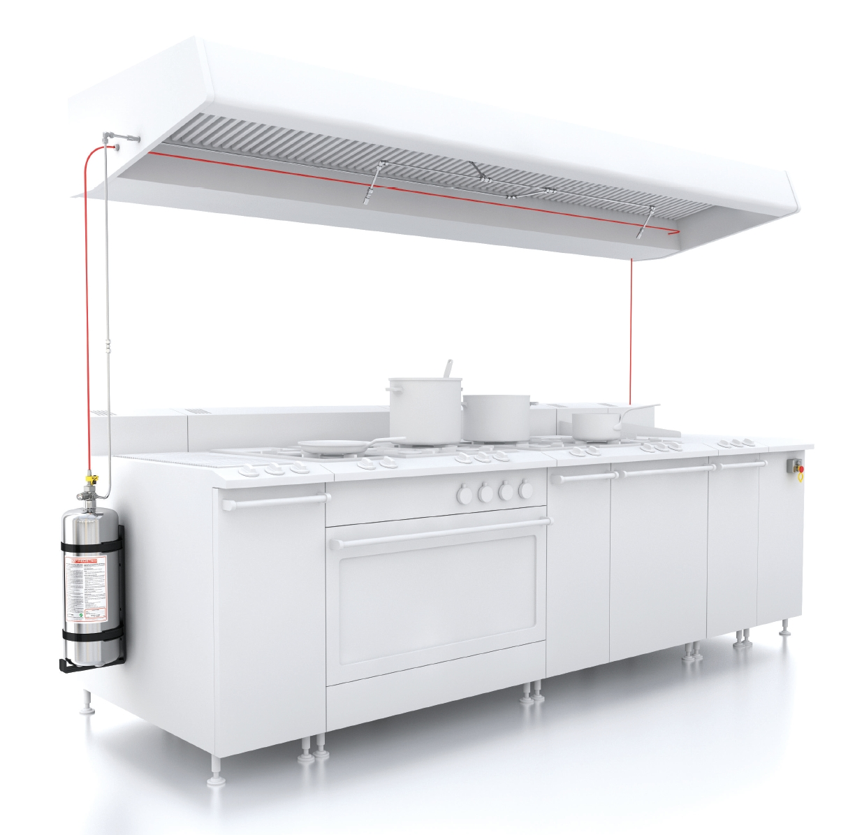 FireDETEC Commercial Kitchen Fire Suppression and Protection System ...