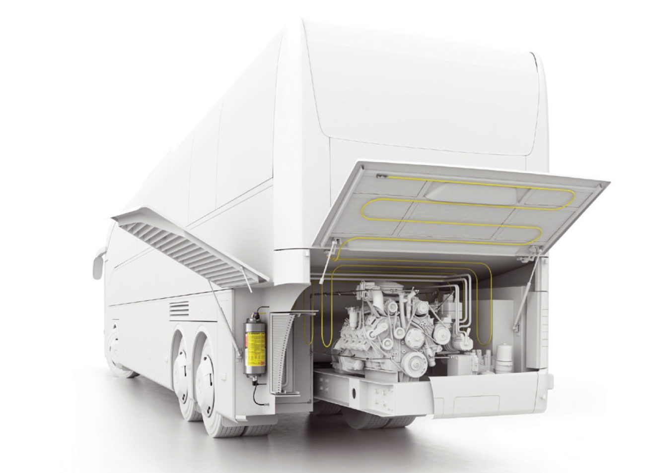 Vehicle Fire Systems : Firedetec engine compartment fire suppression and