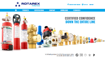 Visit Our New Website to See World Leading Fire Suppression Valves, Components & Systems