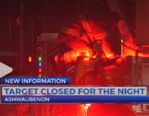 This Fire Didn't Need to Force Target Store to Close